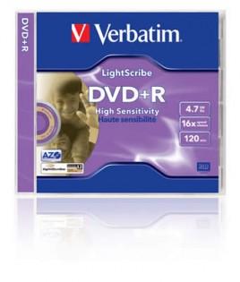 DVD+R Verbatim 16x LightScribe
