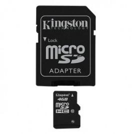 SDHC Kingston 4GB micro cl4