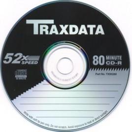 CD-R Traxdata 52x