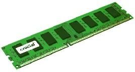 RAM Crucial 4GB DDR3 1600MHz