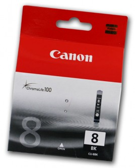 TINTA Canon CLI-8Bk