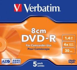 DVD-RW Verbatim 1.4GB 8cm