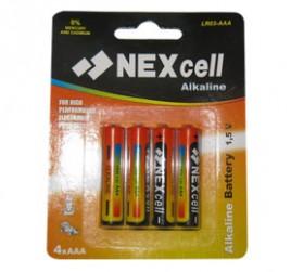 BAT Nexcell AAA 4xLR03 1.5V