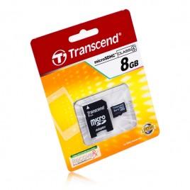 MicroSDHC Transcend 8GB Class4