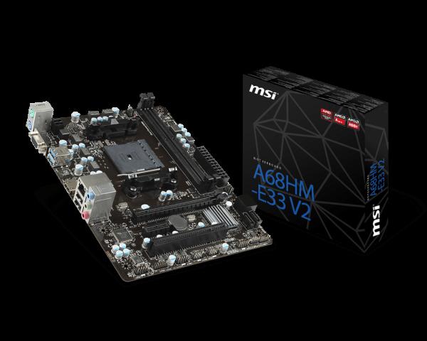 MB MSI A68HM-E33V2