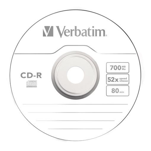 CD-R Verbatim 52x